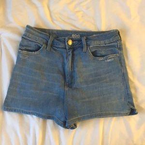BDG High-Waisted Jean Shorts